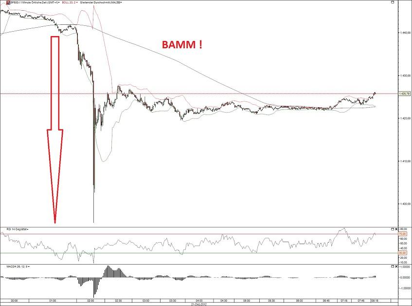S&P Future 21.12.12